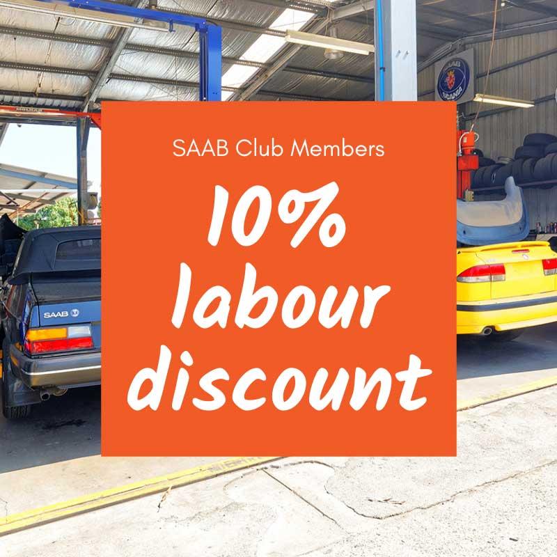 SAAB Club Members Discount
